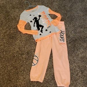 Justice Basketball outfit size 14